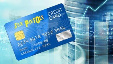 A Sex Pistols Credit Card