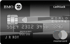 BMO World Elite Cash Back Card