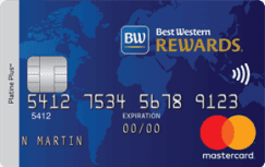 La carte de crédit MasterCard Best Western Rewards