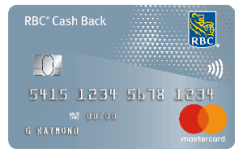 RBC - Cash Back Mastercard With No Annual Fee
