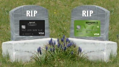 RIP Amazon and Marriott cards in Canada