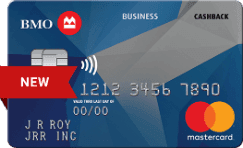 BMO Small Business Cash Back Mastercard