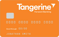 tangerine no fee deaily chequing account