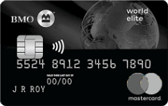 BMO Rewards World Elite Mastercard