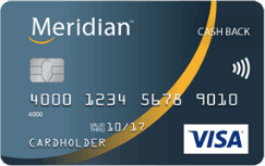 Meridian Cash Back Visa Card
