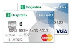 Desjardins Cash Back visa-mc 243
