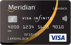 Meridian Cash Back Infinite Visa Card