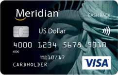 Meridian Cash Back US Dollar Card