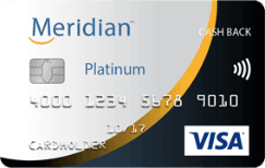 Meridian Platinum Cash Back Visa Card