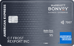 The Marriott Bonvoy Business American Express Card
